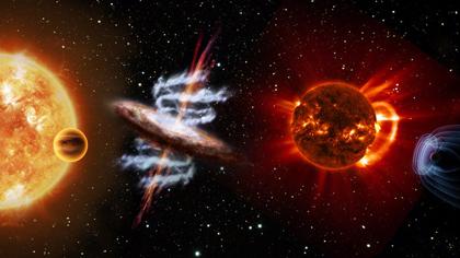 Pianeti extrasolari, fisica del plasma e universo a raggi X sono gli argomenti selezionati dall'ESA per le prossimi missioni, tra cui ARIEL, il cui lancio è previsto per il 2025. Crediti: ESA/ ATG medialab