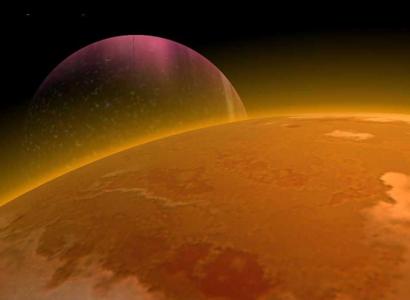 Rappresentazione artistica di un sistema planetario. Crediti: Michael Kidderly.