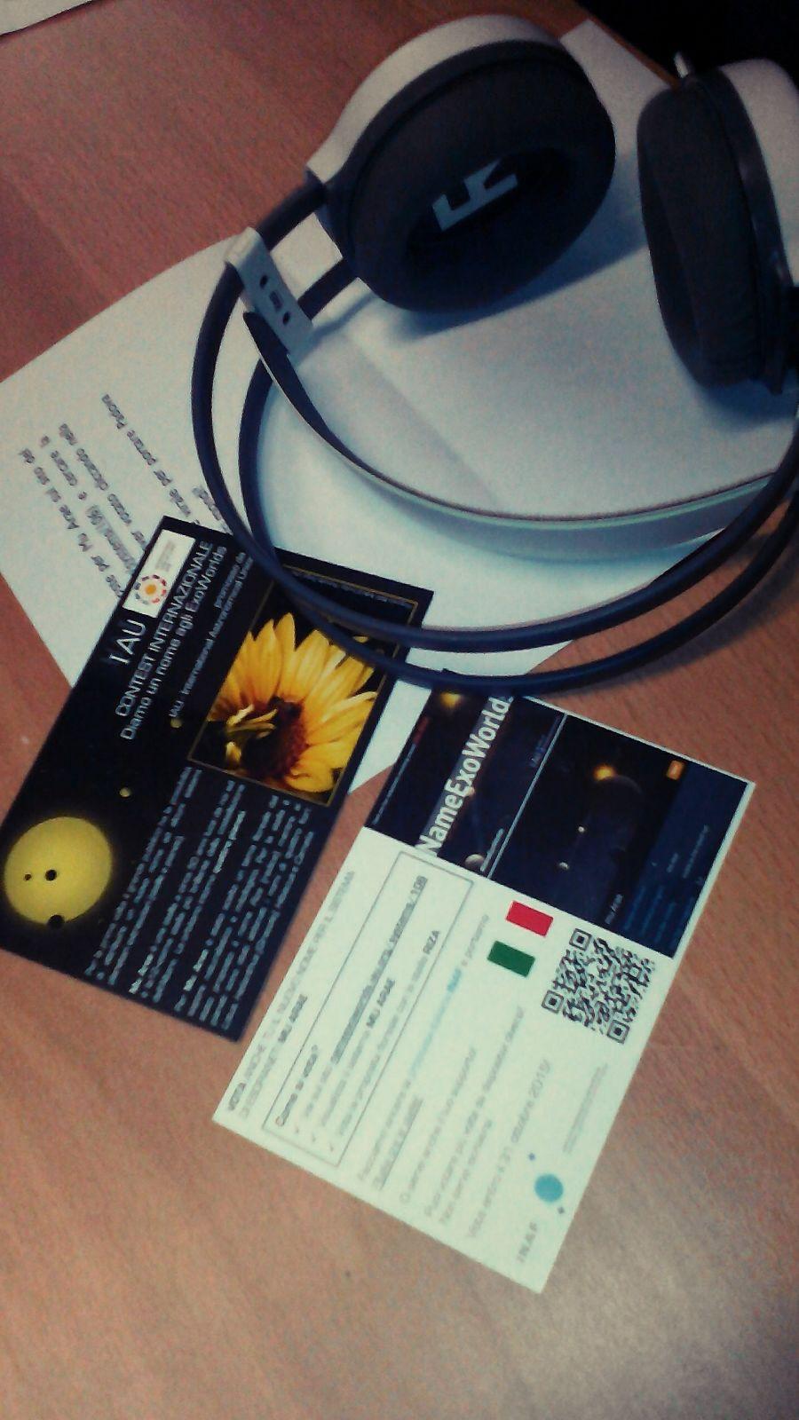 A RadioBue dell'Università di Padova il concorso NameExoWorlds. Crediti: R. Spiga