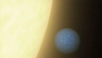 La proposta italiana presentata dalla SAIt-Società Astronomica Italiana riguarda il sistema 55 Cancri, qui rappresentato con una visione artistica. Crediti: IAU