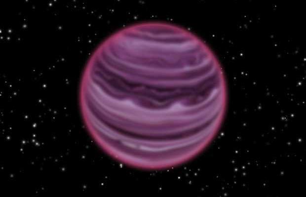 Rappresentazione artistica del pianeta vagante PSO J318.5-22. Crediti: MPIA/V. Ch. Quetz