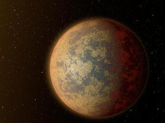 Rappresentazione artistica di HD 219134 b. Crediti: NASA
