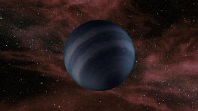 Rappresentazione artistica di un pianeta privo della sua stella. Crediti: NASA/JPL-Caltech.