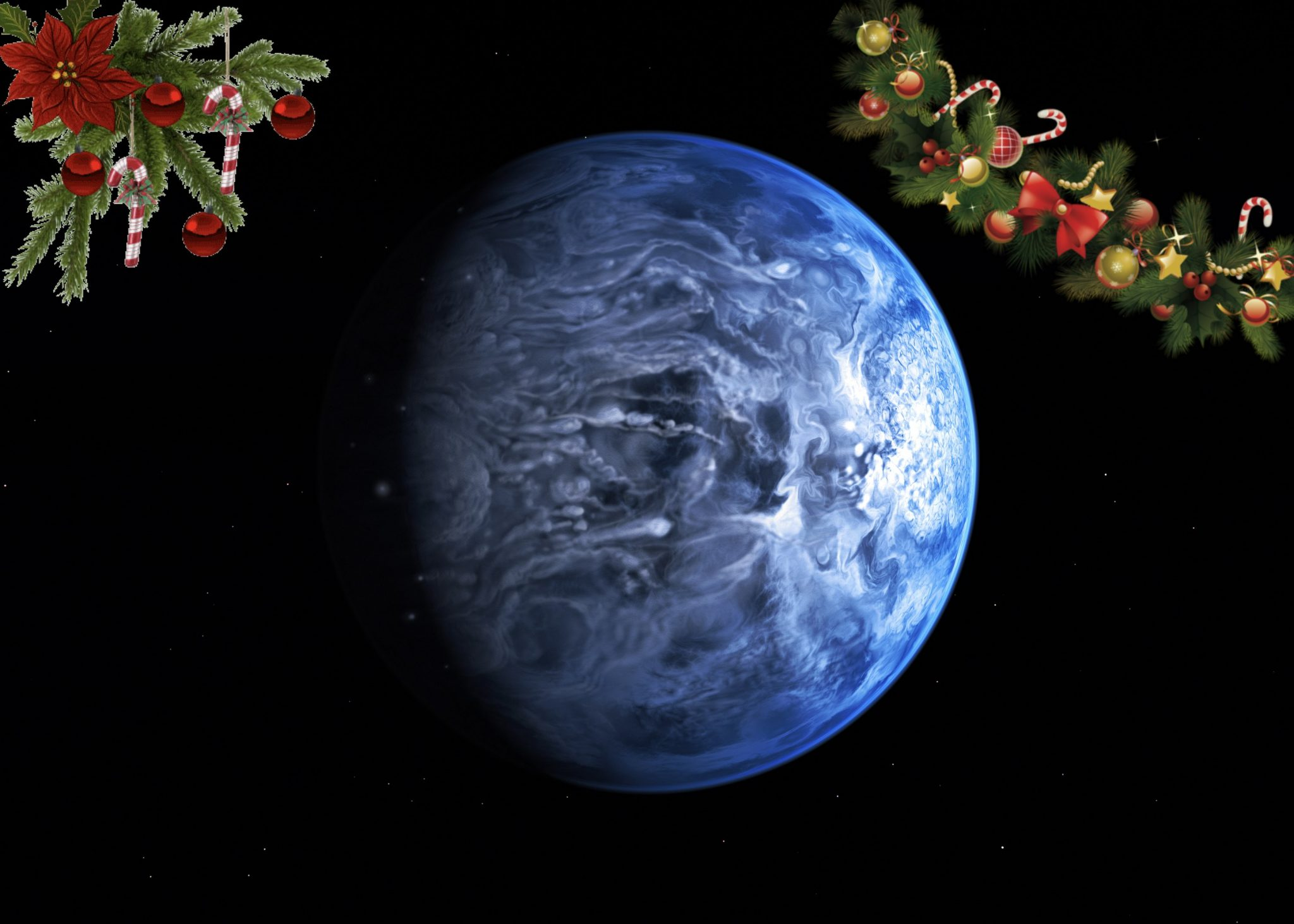 Rappresentazione artistica del pianeta HD 189733 A b, un pianeta blu Credit: ESO/M. Kornmesser