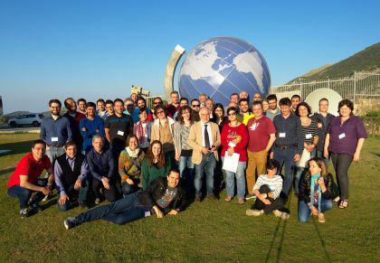 Il team GAPS al Parco Astronomico GAL Hassin di Isnello.